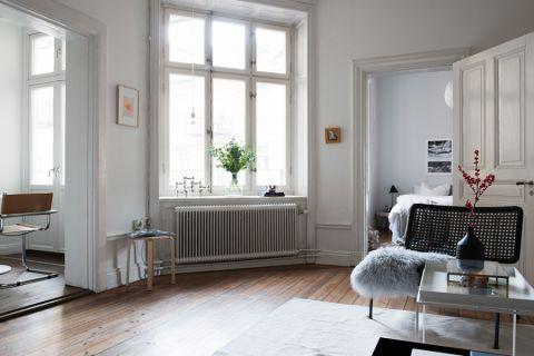 客厅地板砖北欧风格装饰图片