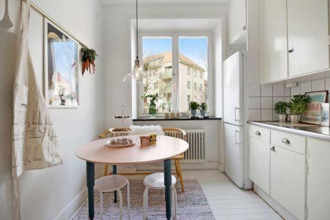 厨房北欧风格效果图大全2017图片_土拨鼠个性质感厨房北欧风格装修设计效果图欣赏