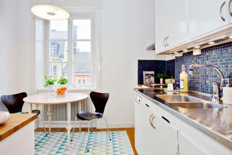 厨房餐桌北欧风格效果图