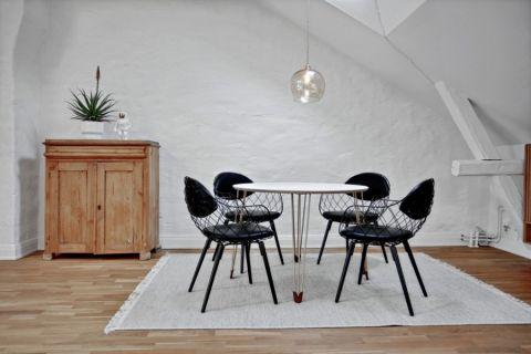 餐厅地板砖北欧风格装潢图片