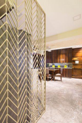 客厅地砖现代风格装潢图片
