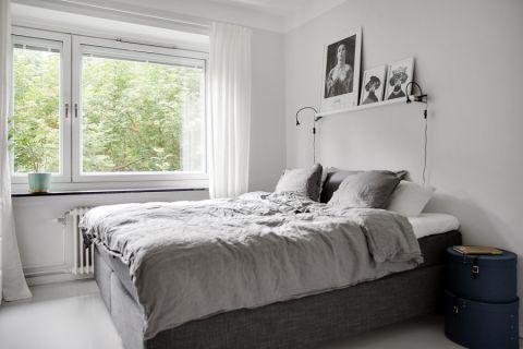 卧室北欧风格效果图大全2017图片_土拨鼠简约创意卧室北欧风格装修设计效果图欣赏