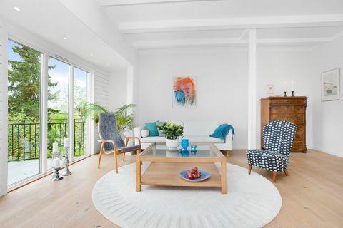 客厅北欧风格装潢图片