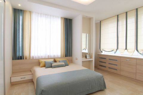 卧室北欧风格装潢图片