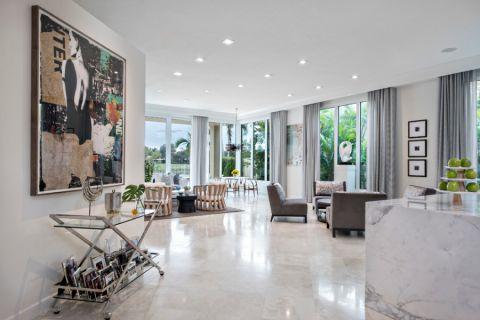 客厅现代风格效果图大全2017图片_土拨鼠奢华沉稳客厅现代风格装修设计效果图欣赏