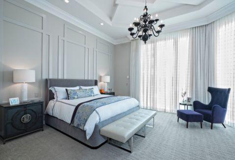 卧室灯具现代风格装修图片