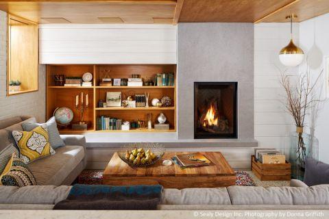 客厅北欧风格效果图大全2017图片_土拨鼠美好雅致客厅北欧风格装修设计效果图欣赏