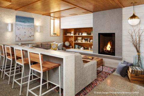 客厅吧台北欧风格装饰效果图