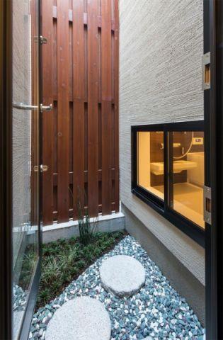 外景外墙日式风格装饰效果图