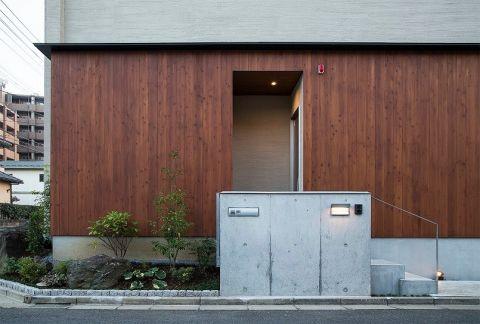 书房外墙日式风格装潢图片