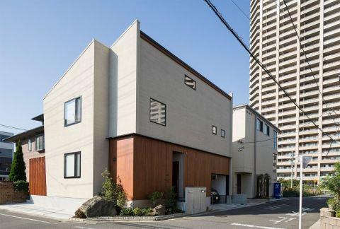 外景外墙日式风格装修设计图片