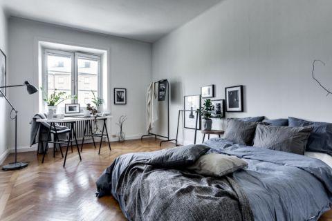 卧室北欧风格效果图大全2017图片_土拨鼠简洁自然卧室北欧风格装修设计效果图欣赏