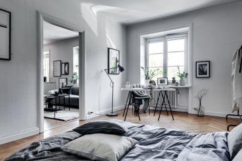 卧室北欧风格效果图