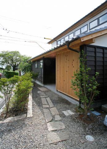外景外墙日式风格装修图片