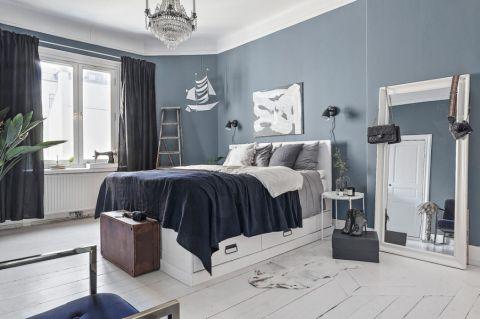 卧室北欧风格装饰图片