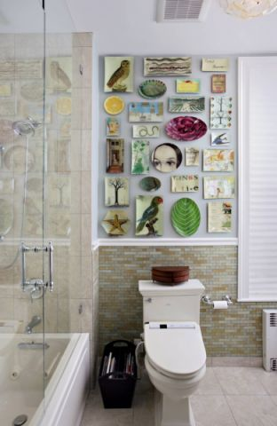 卫生间混搭风格装饰设计图片