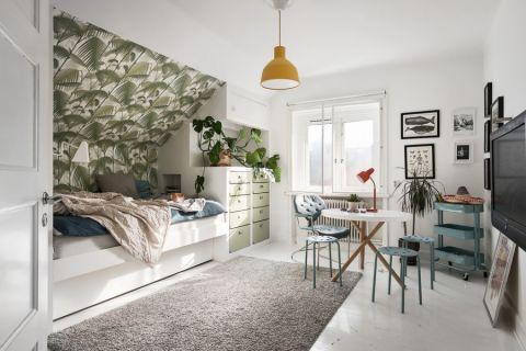 简单大气卧室地砖装饰设计图片