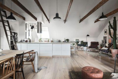 迷人厨房岛台室内装饰