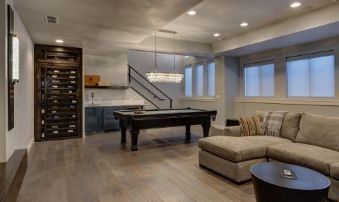 客厅白色l型沙发案例图片