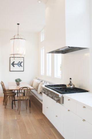 古朴美式厨房装修效果图