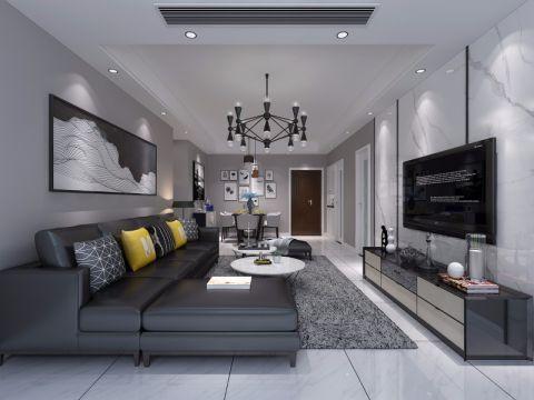 2019简单90平米效果图 2019简单二居室装修设计