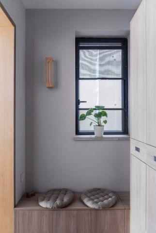 书房飘窗日式风格效果图