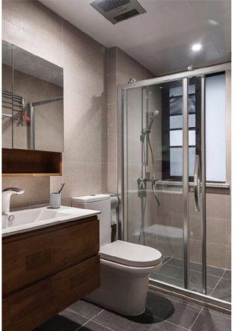 卫生间细节日式风格装潢图片