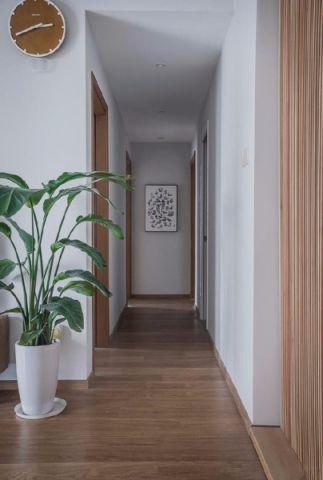 玄关走廊日式风格装修设计图片