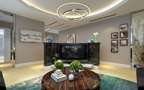 客厅灯具现代风格装修设计图片