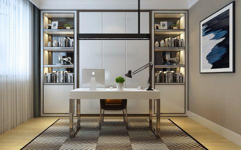 书房书架现代风格效果图