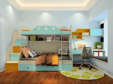 儿童房书桌简约风格装潢设计图片