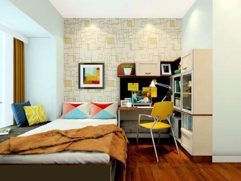 卧室床头柜简约风格效果图