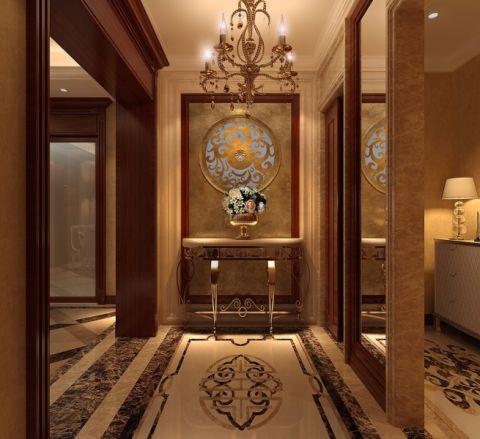 客厅门厅美式风格装潢效果图