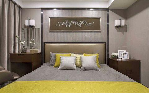 卧室照片墙现代简约风格装潢设计图片