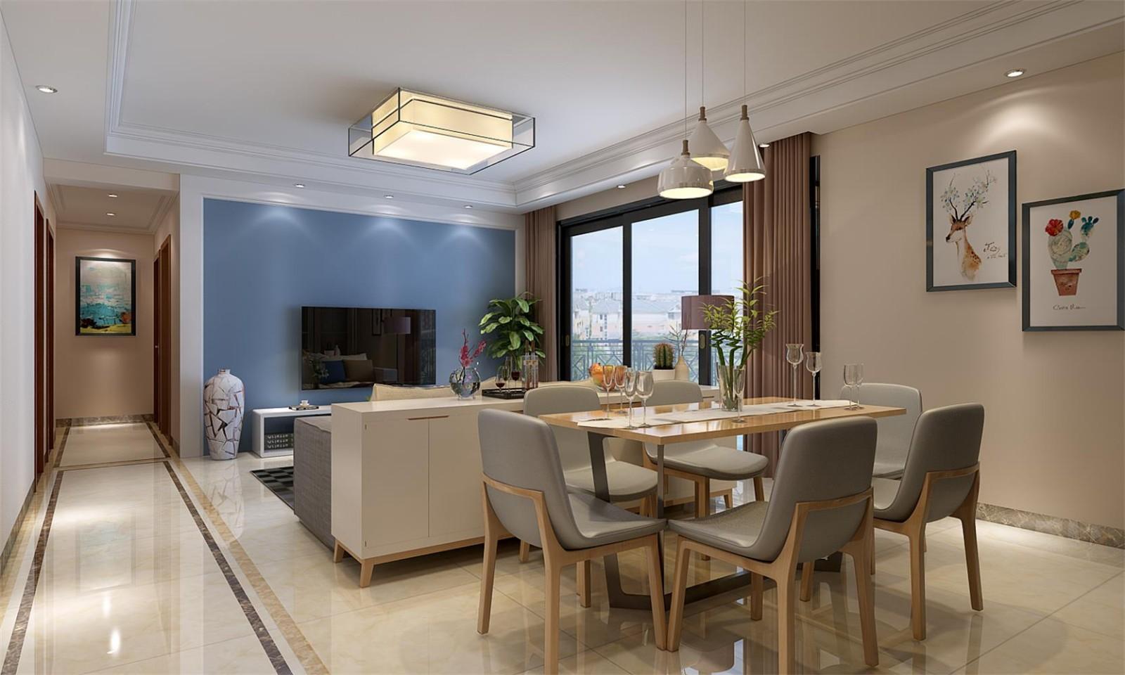 4室2卫2厅168平米现代简约风格