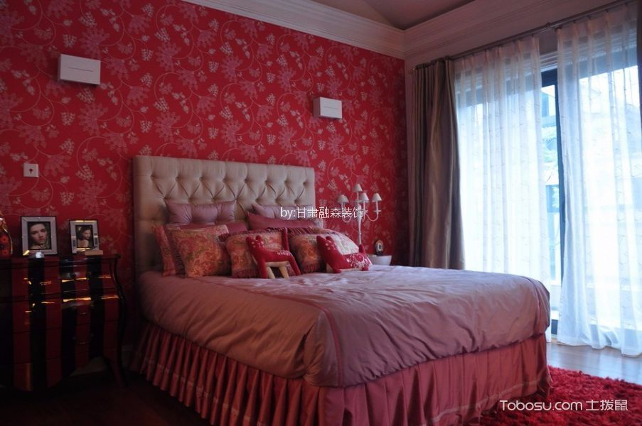 卧室装潢图