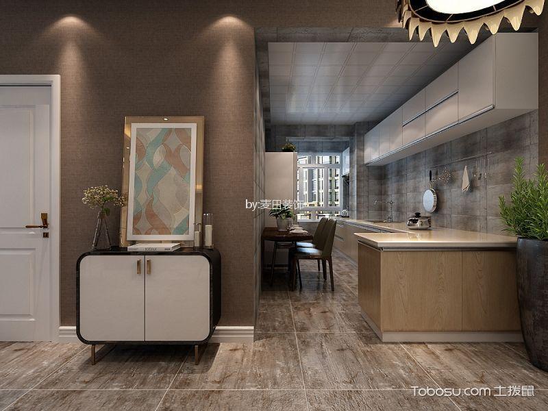 厨房白色门厅后现代风格装饰效果图