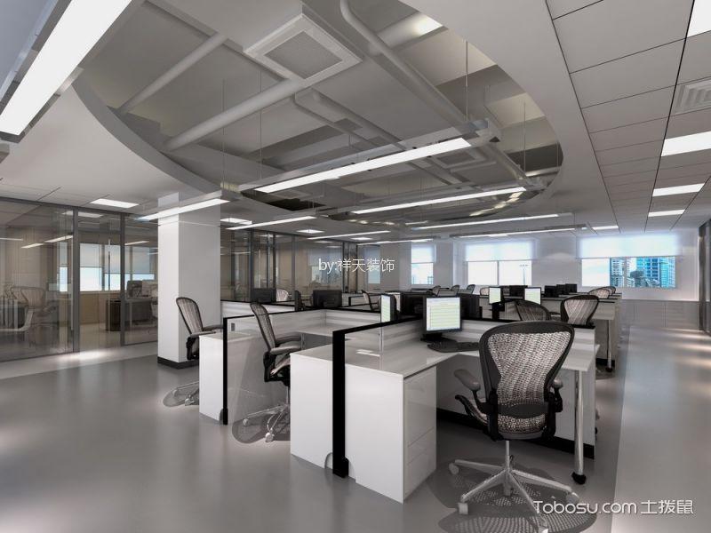 办公区域装潢实景图片