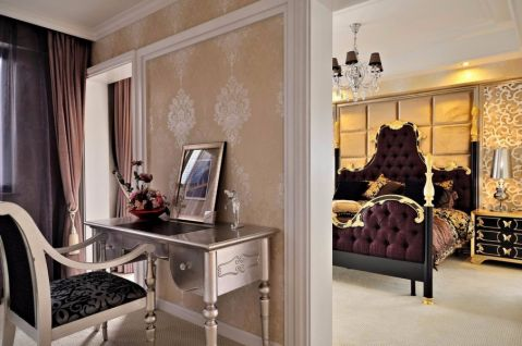 沉稳卧室新古典装修设计
