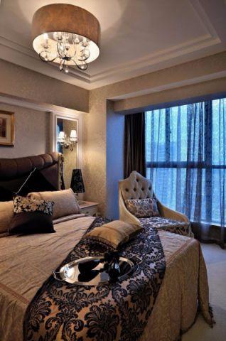 卧室落地窗新古典装修设计