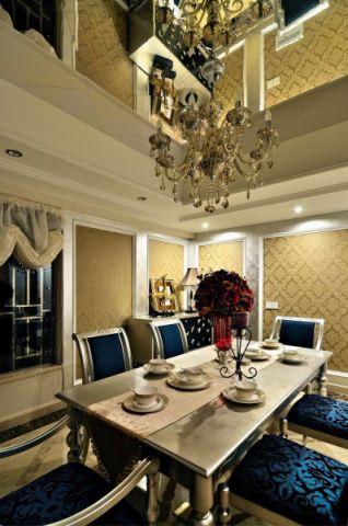 低调优雅米色餐厅装饰设计