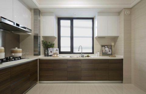2021现代简约厨房装修图 2021现代简约橱柜装修设计