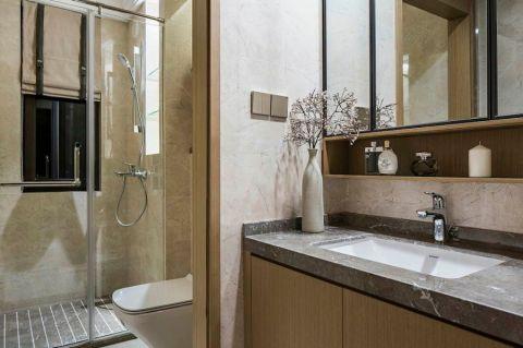 2021现代简约浴室设计图片 2021现代简约隔断装修设计