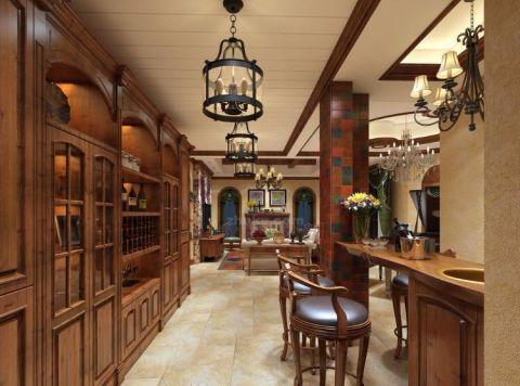 设计精巧客厅吧台设计