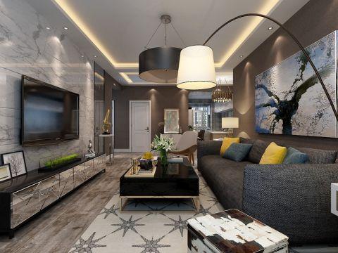 2020后现代80平米设计图片 2020后现代二居室装修设计