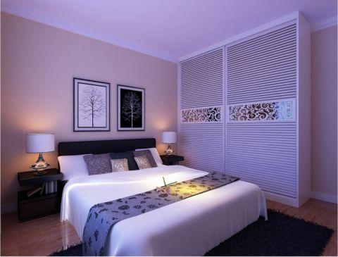 精雕细刻卧室后现代室内装修设计