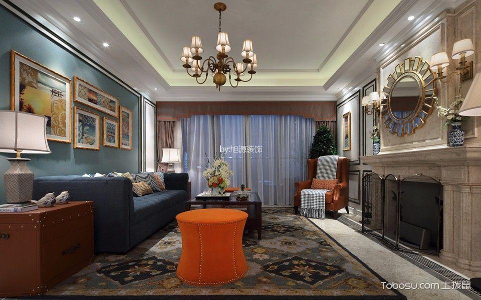 金地天逸120平米新古典三居装修效果图