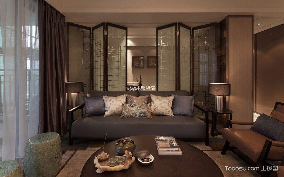 泰盈八千里132平米现代风格三居室装修效果图