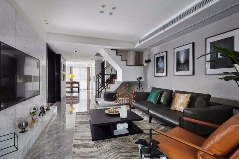 万科魅力200平四室两厅两卫极简主义风格实景图