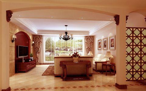 2020新古典240平米装修图片 2020新古典四居室装修图